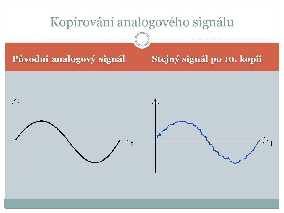 Kopírování analogového signálu