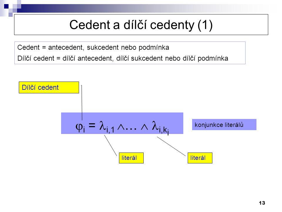 Cedent a dílčí cedenty (1)