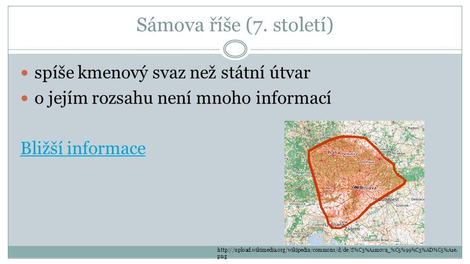 Sámova říše (7. století) spíše kmenový svaz než státní útvar