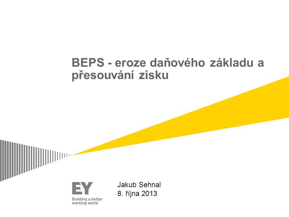 BEPS - eroze daňového základu a přesouvání zisku