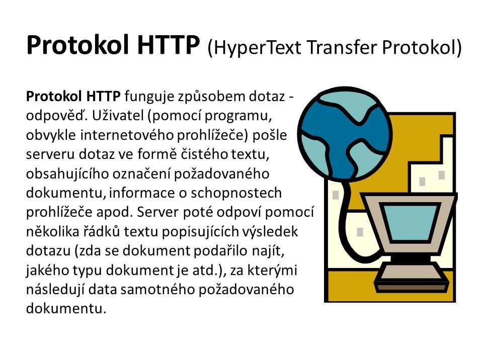 Protokol HTTP (HyperText Transfer Protokol)