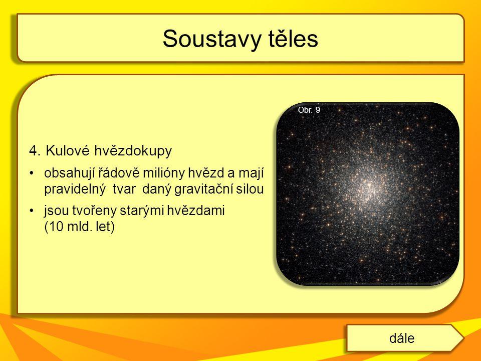 Soustavy těles 4. Kulové hvězdokupy