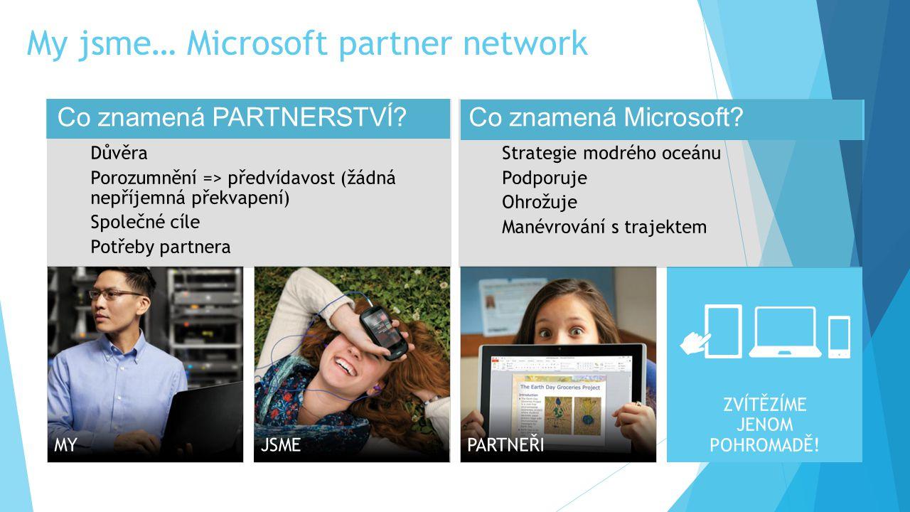 My jsme… Microsoft partner network