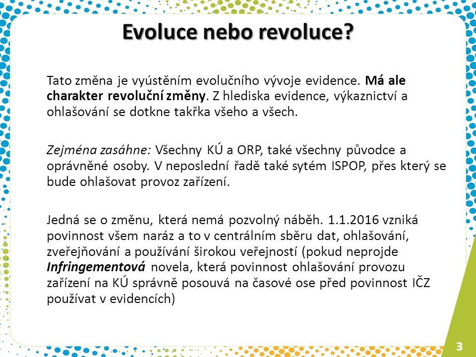 Evoluce nebo revoluce