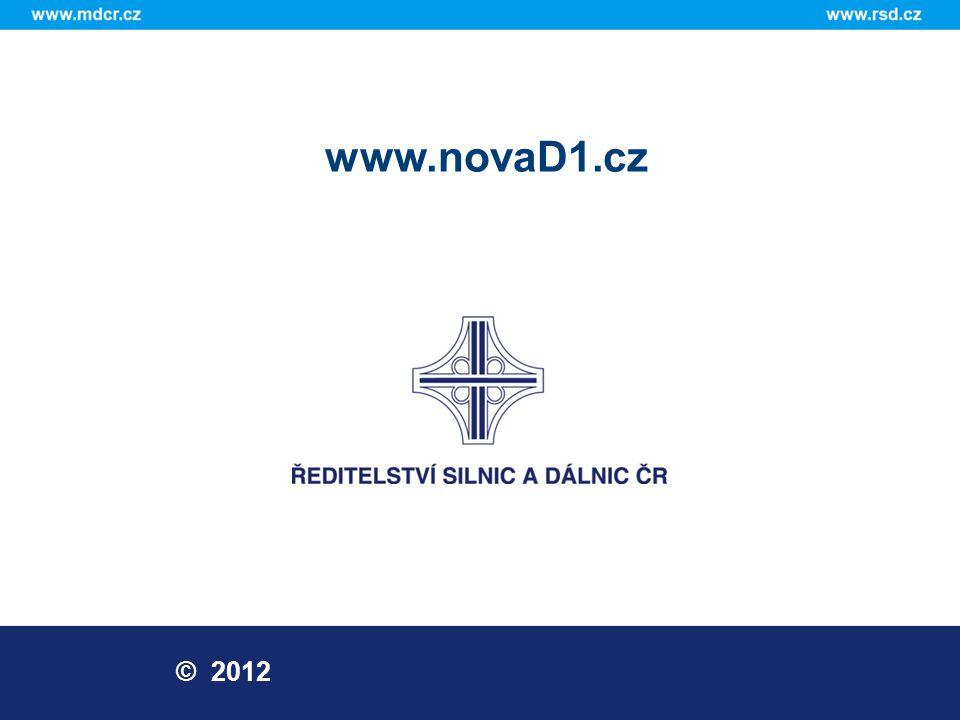 www.novaD1.cz © 2012
