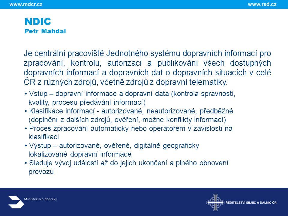 NDIC Petr Mahdal