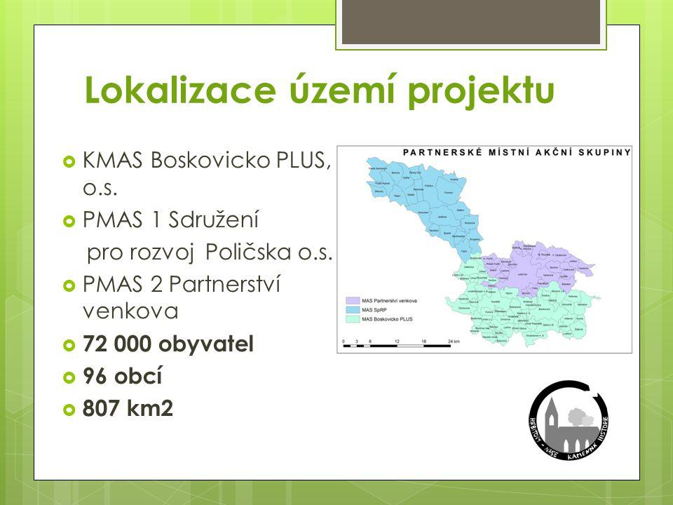 Lokalizace území projektu