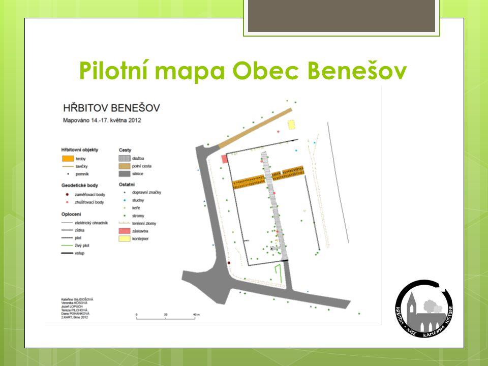 Pilotní mapa Obec Benešov