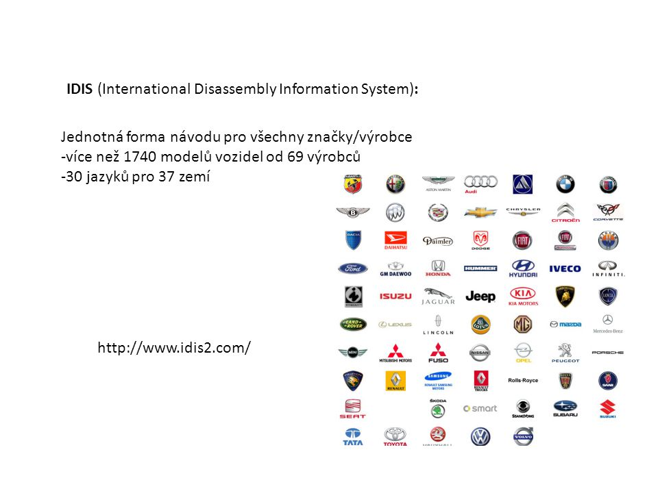 IDIS (International Disassembly Information System):