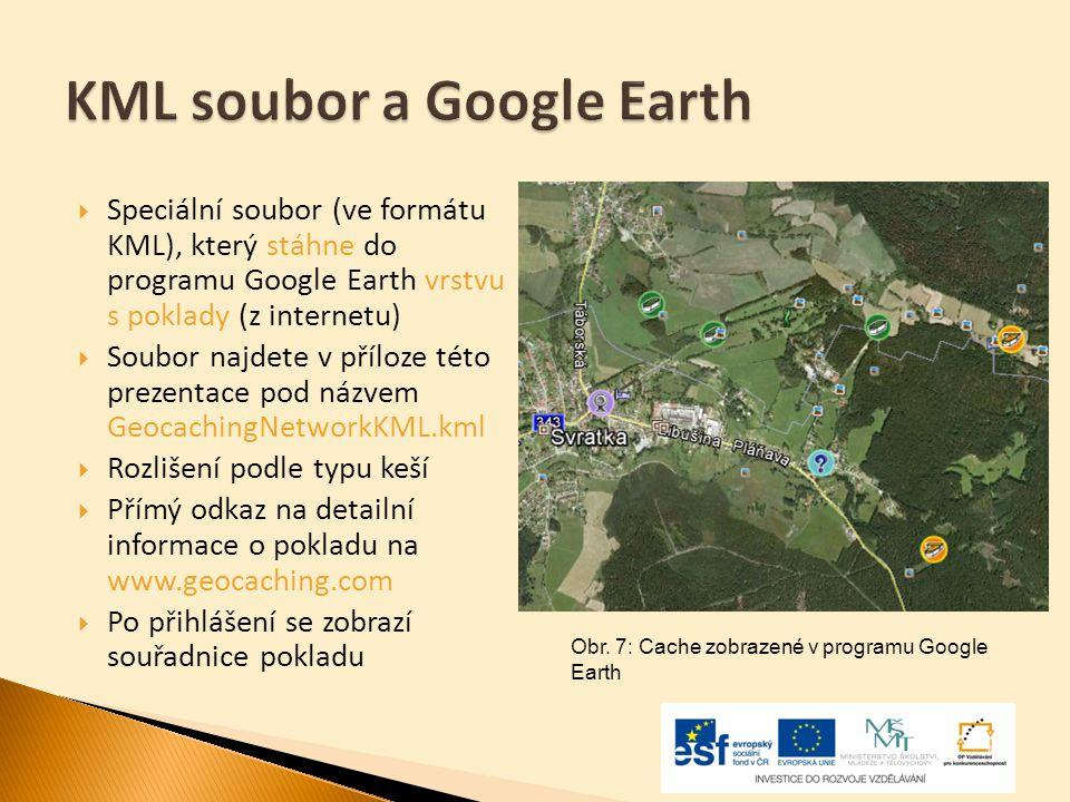 KML soubor a Google Earth