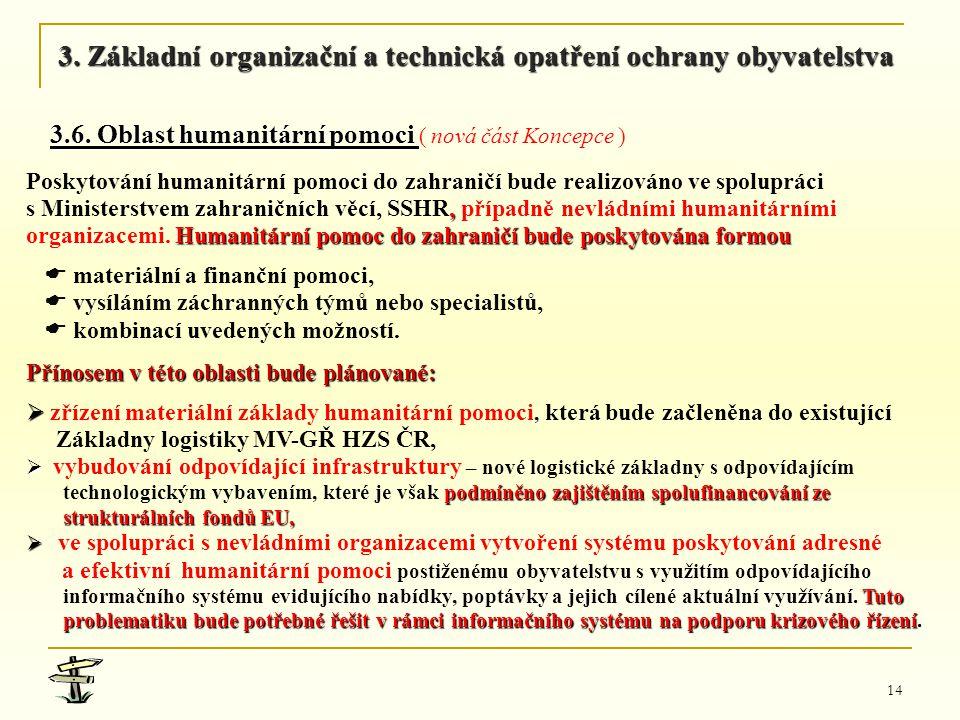 3. Základní organizační a technická opatření ochrany obyvatelstva