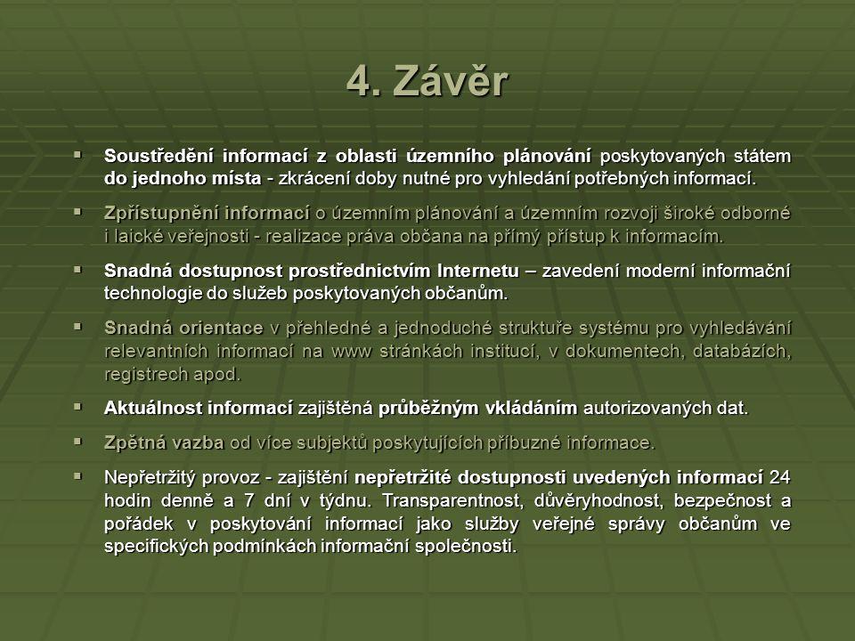 4. Závěr