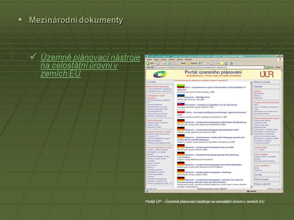 Mezinárodní dokumenty