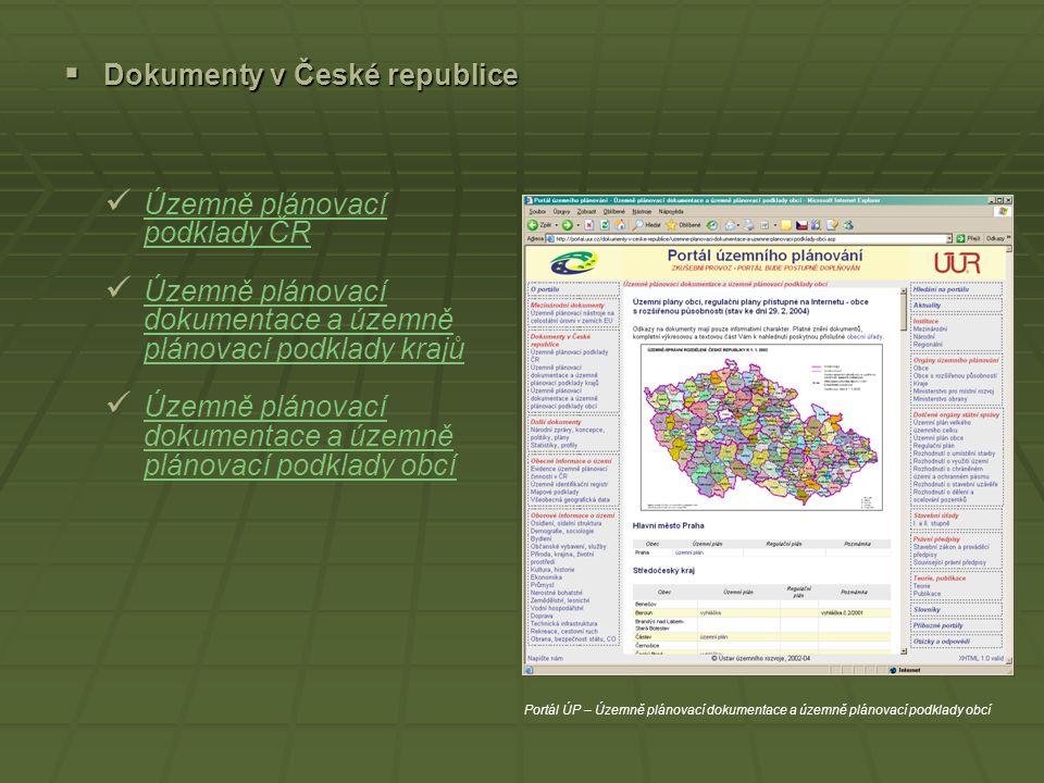 Dokumenty v České republice