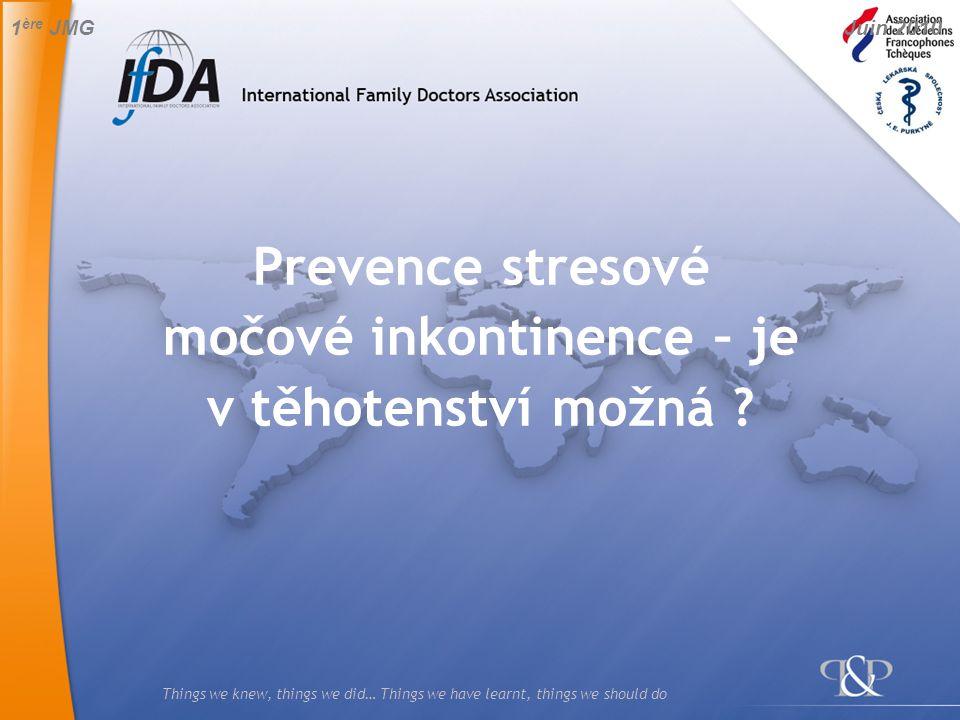 Prevence stresové močové inkontinence – je v těhotenství možná