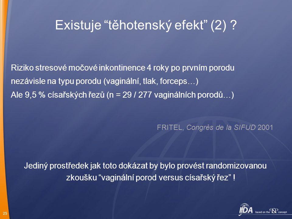 Existuje těhotenský efekt (2)
