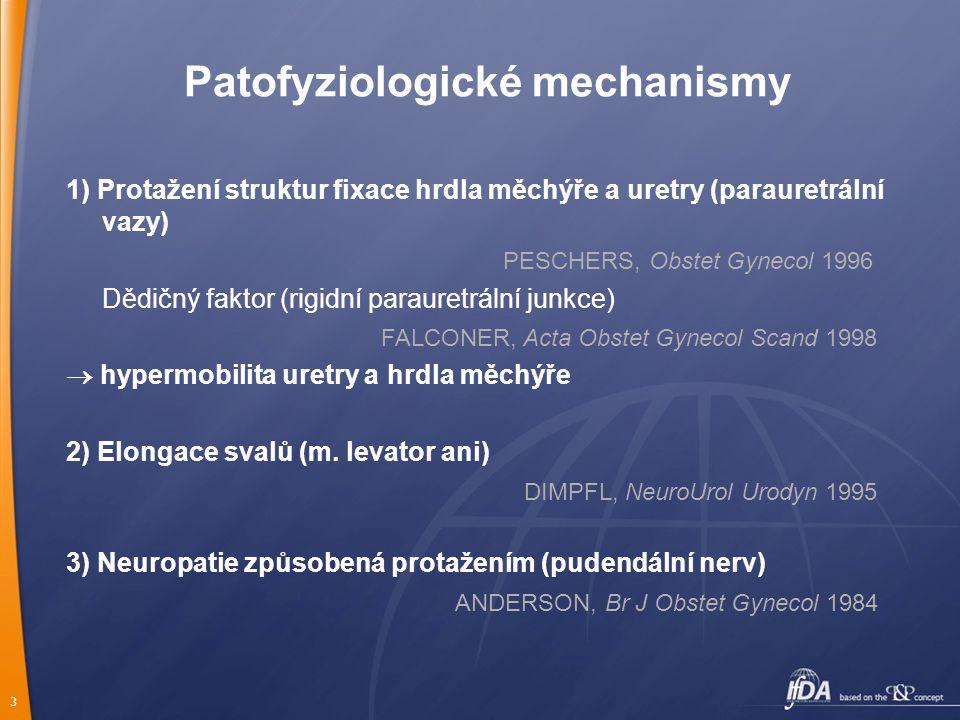 Patofyziologické mechanismy