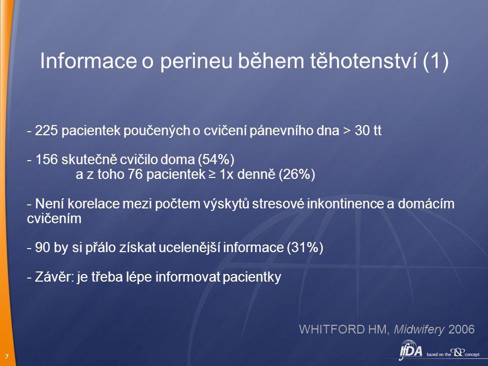 Informace o perineu během těhotenství (1)