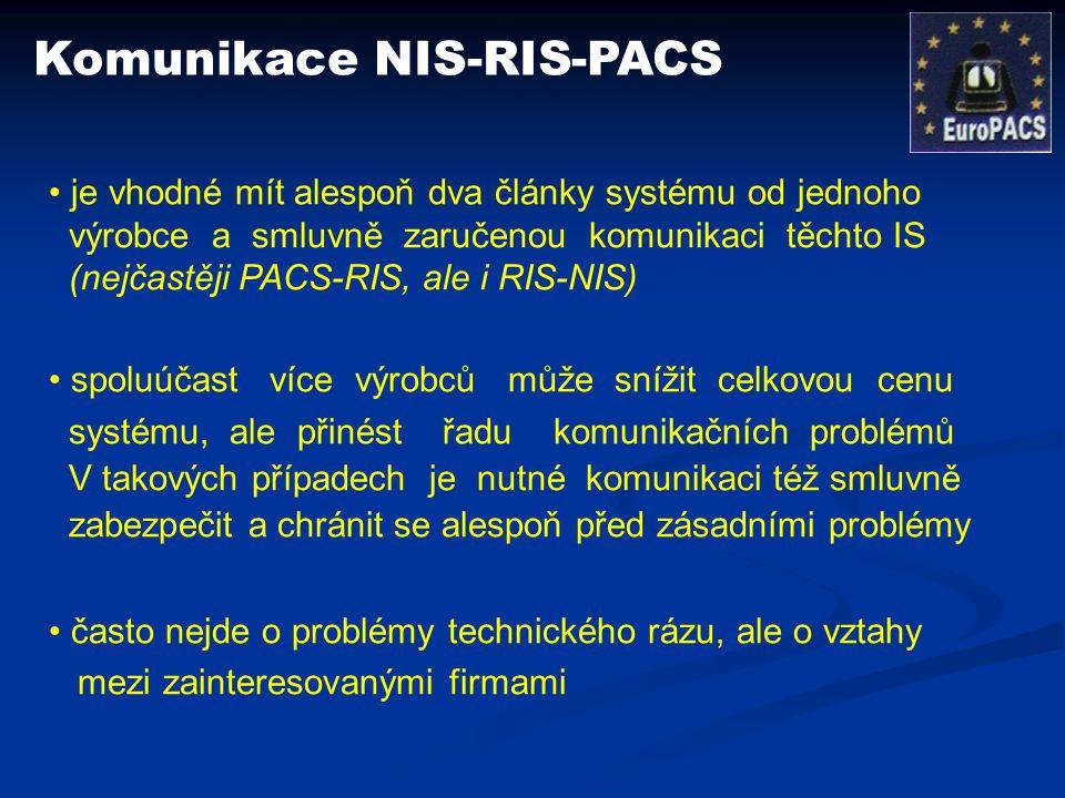 Komunikace NIS-RIS-PACS