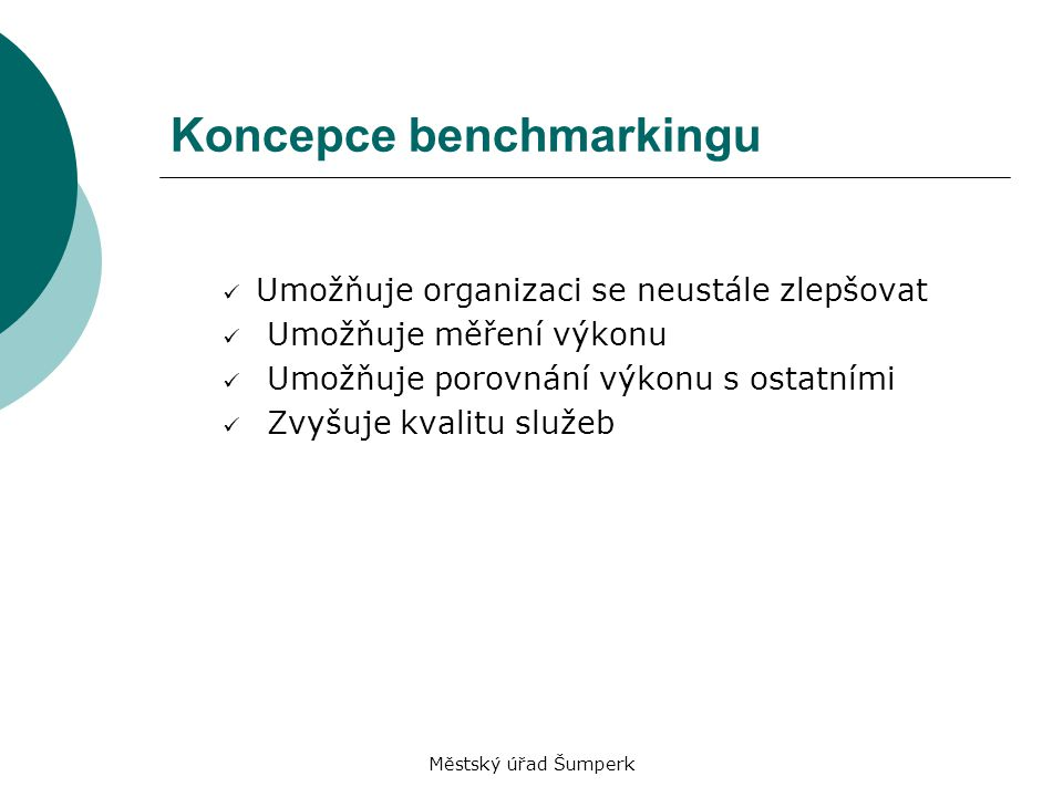 Koncepce benchmarkingu