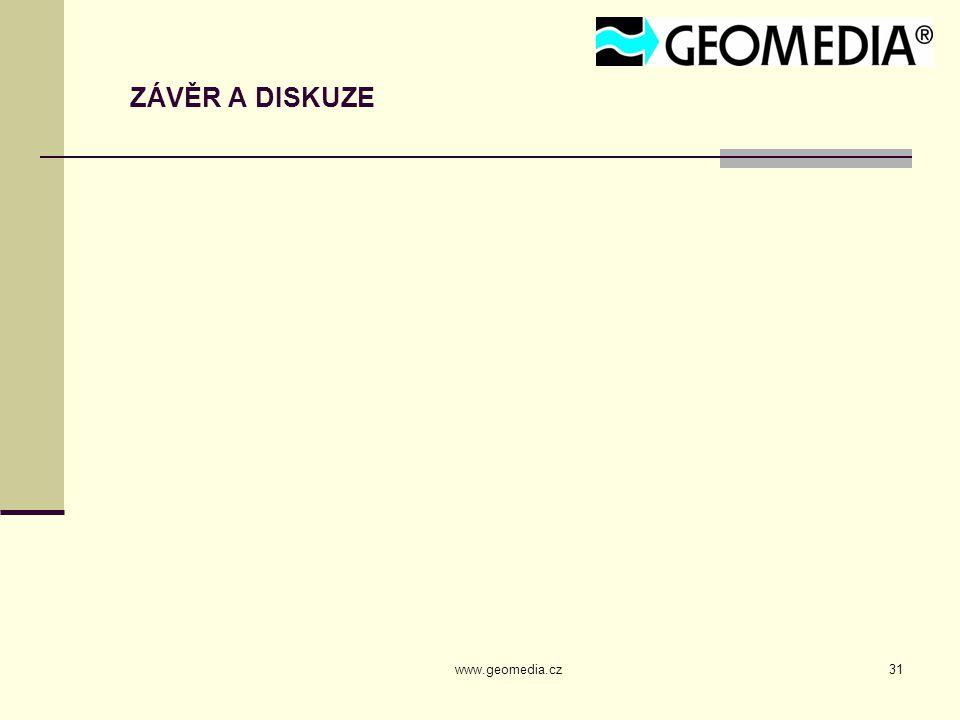 ZÁVĚR A DISKUZE www.geomedia.cz