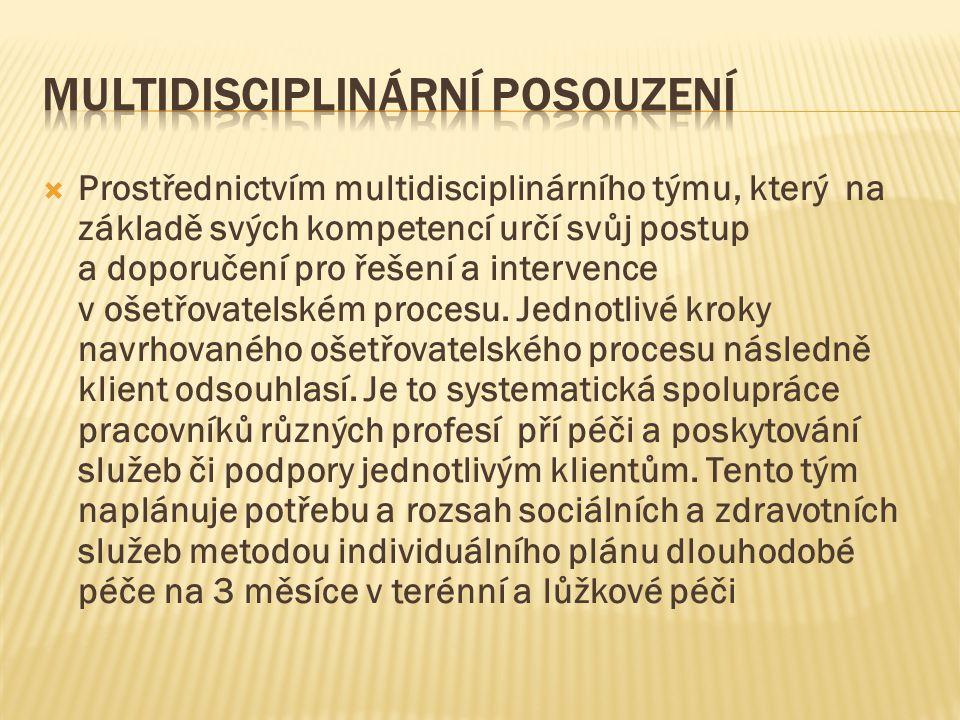 Multidisciplinární posouzení