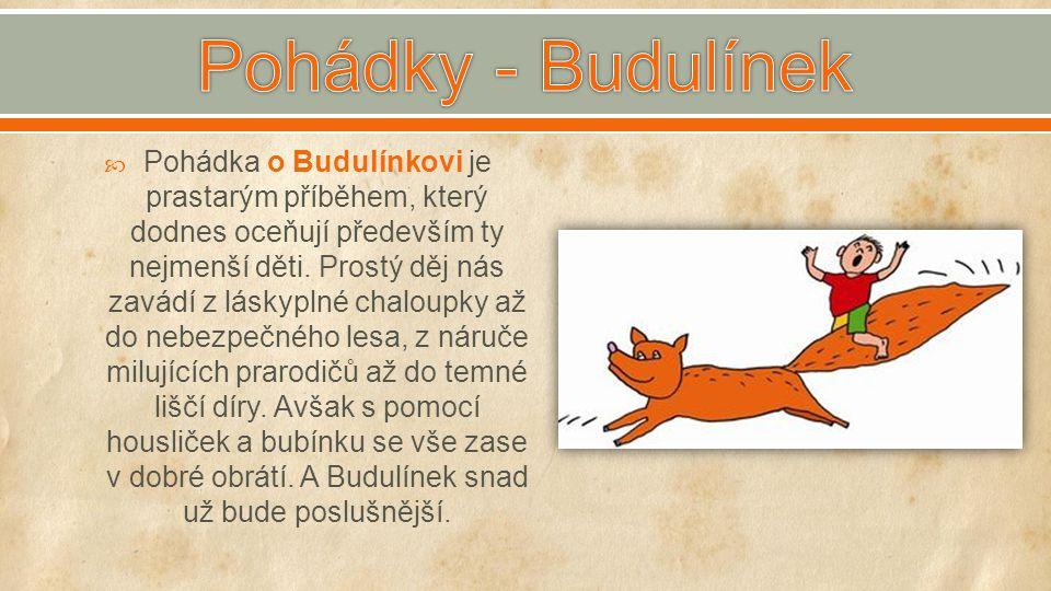Pohádky - Budulínek