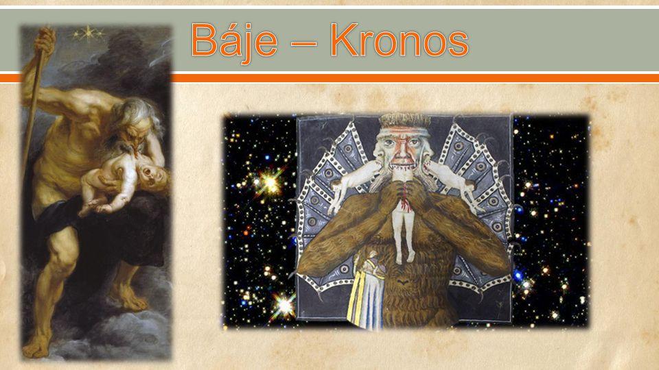Báje – Kronos