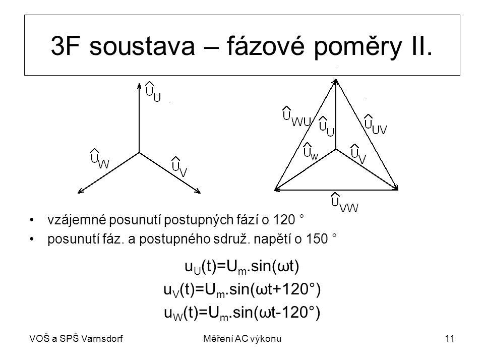 3F soustava – fázové poměry II.