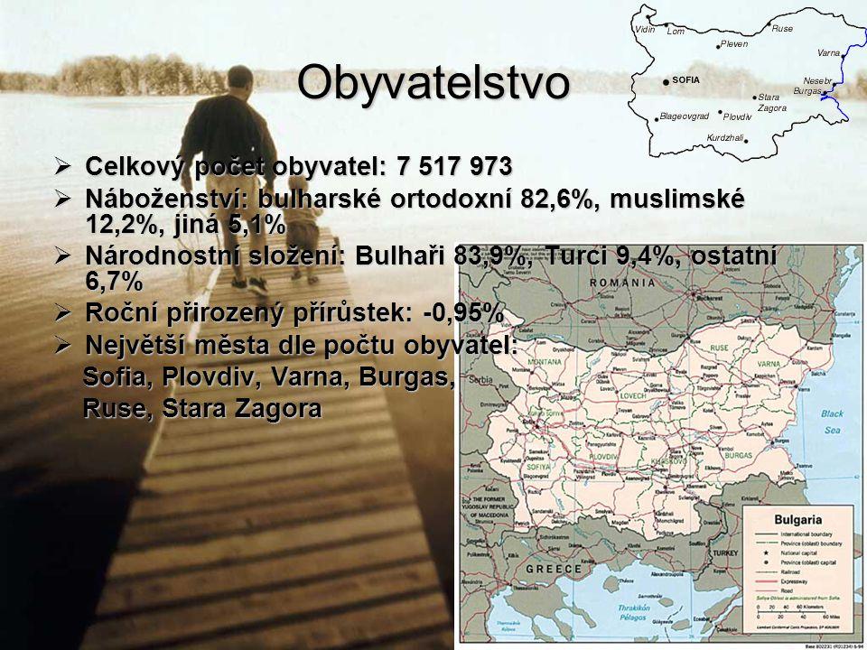 Obyvatelstvo Celkový počet obyvatel: 7 517 973