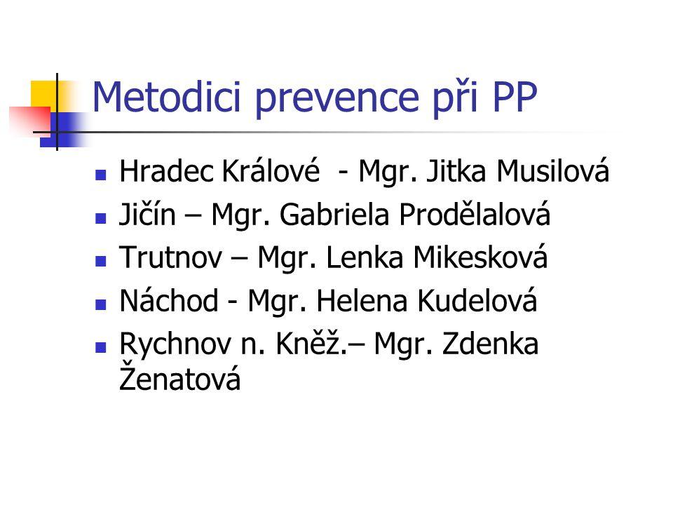 Metodici prevence při PP