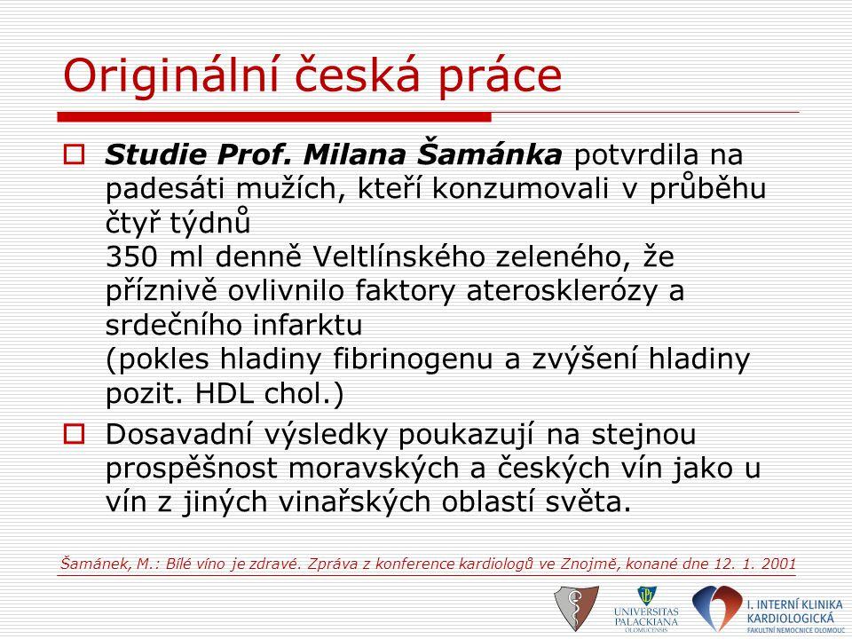 Originální česká práce