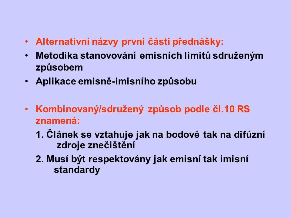 Alternativní názvy první části přednášky: