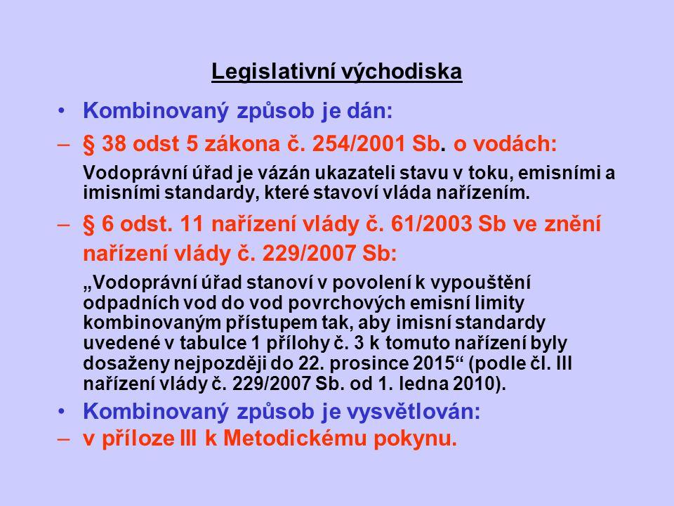 Legislativní východiska