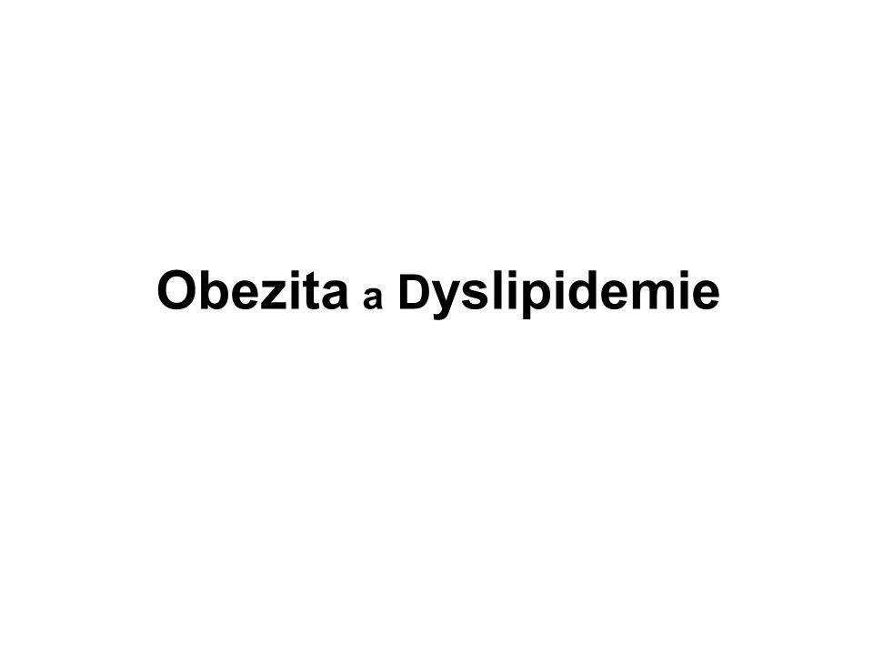 Obezita a Dyslipidemie