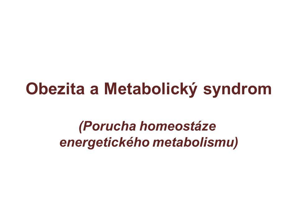 Obezita a Metabolický syndrom