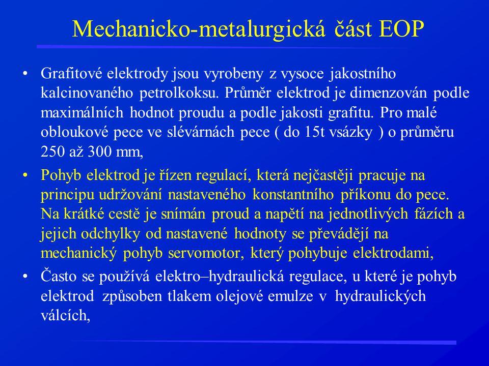 Mechanicko-metalurgická část EOP