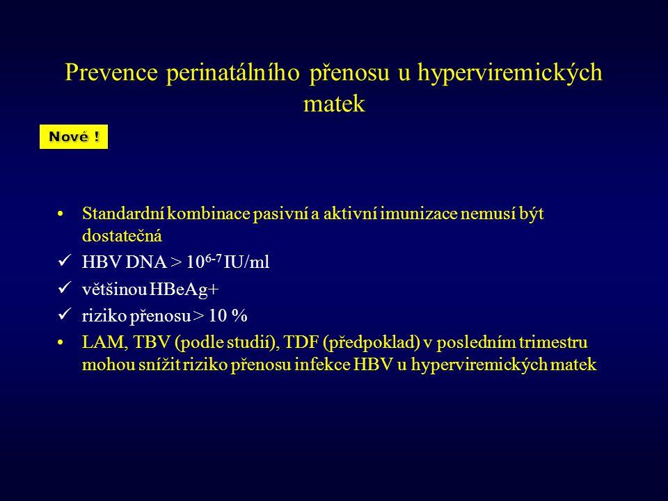 Prevence perinatálního přenosu u hyperviremických matek