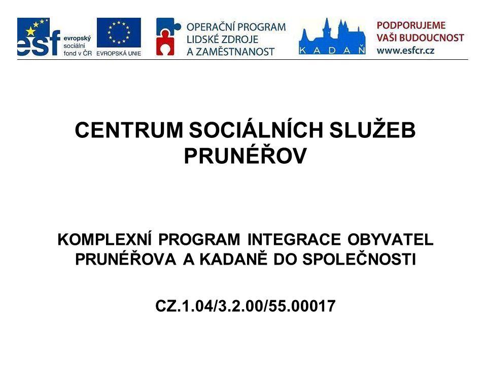 CENTRUM SOCIÁLNÍCH SLUŽEB PRUNÉŘOV