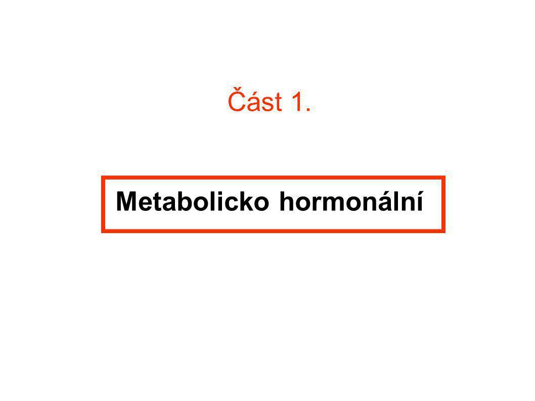 Metabolicko hormonální
