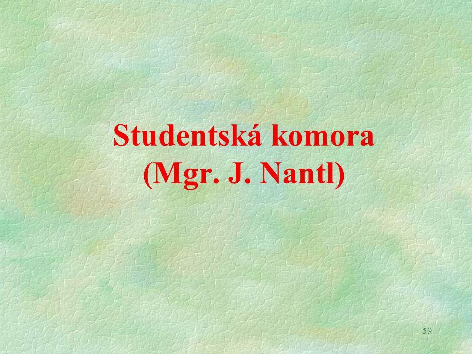 Fond rozvoje (prof. P. Stránský)