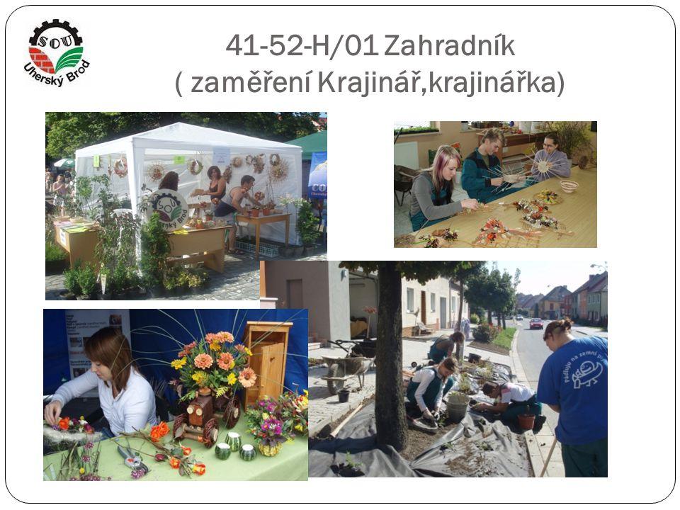 41-52-H/01 Zahradník ( zaměření Krajinář,krajinářka)