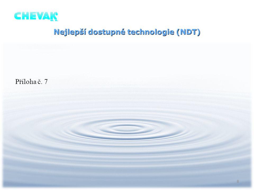 Nejlepší dostupné technologie (NDT)