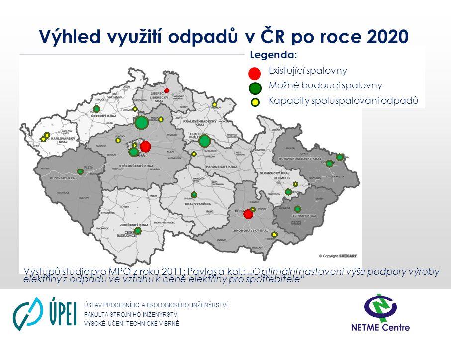 Výhled využití odpadů v ČR po roce 2020