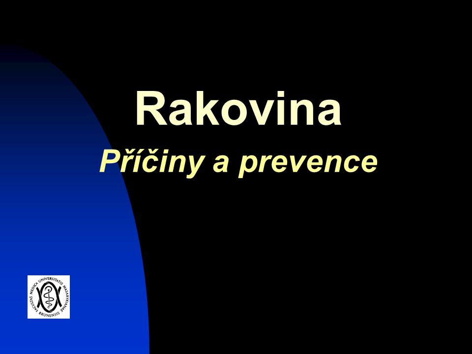 Rakovina Příčiny a prevence