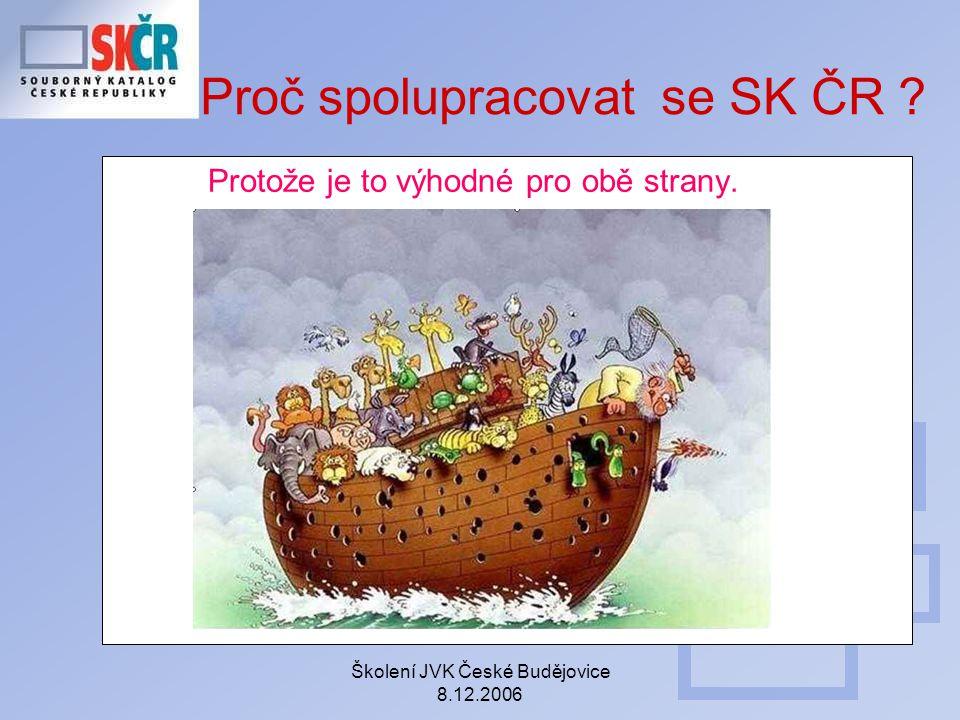 Proč spolupracovat se SK ČR