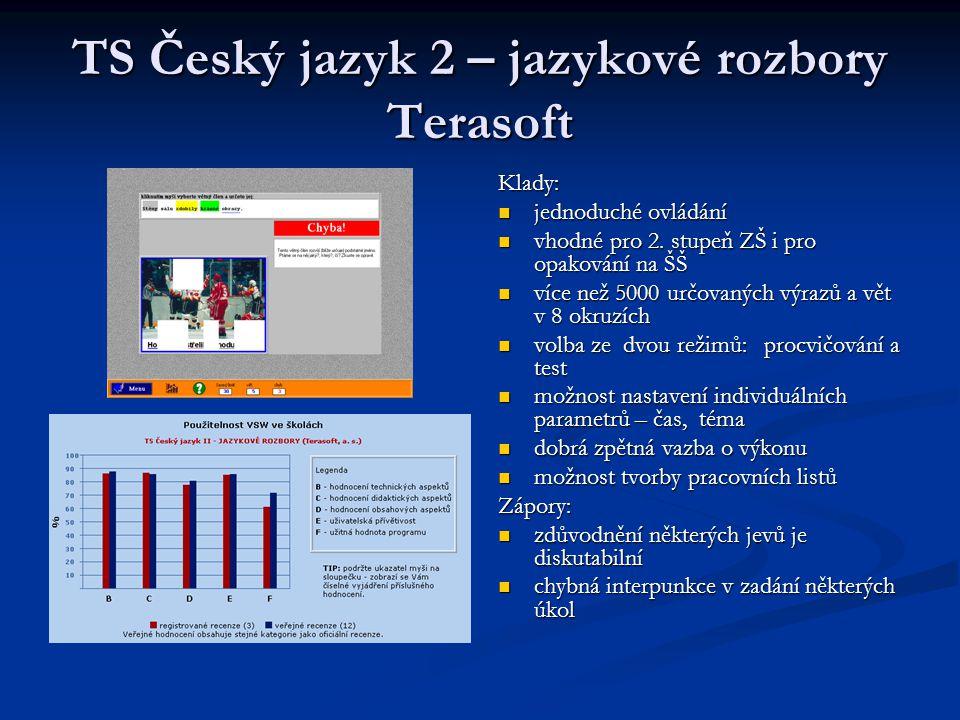 TS Český jazyk 2 – jazykové rozbory Terasoft