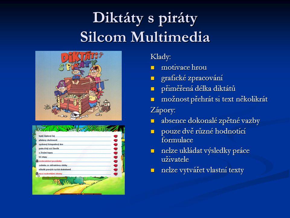 Diktáty s piráty Silcom Multimedia