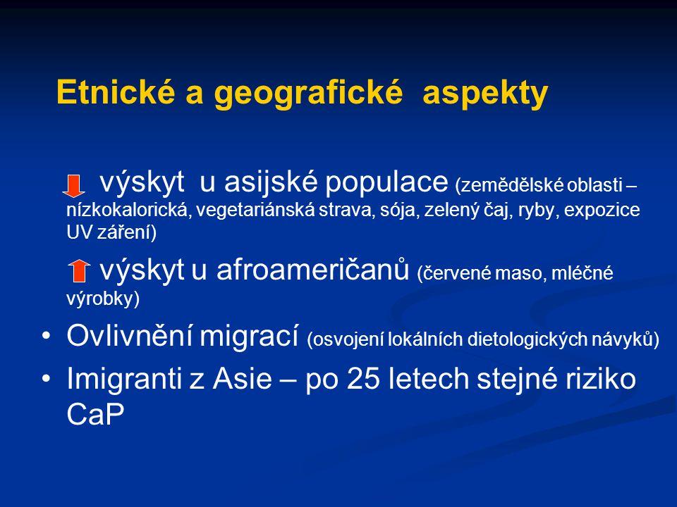 Etnické a geografické aspekty