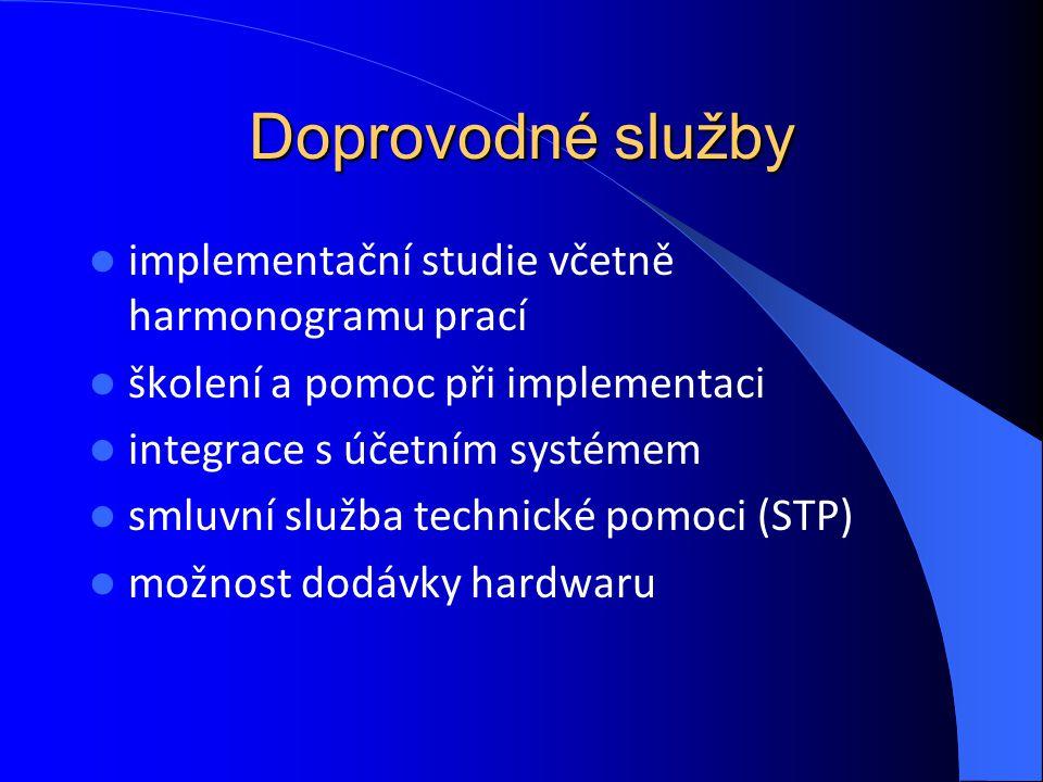 Doprovodné služby implementační studie včetně harmonogramu prací